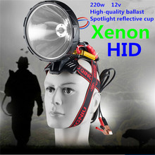 Flashlight Xenon Outdoor Headlamp Installation 220W Hunt Hid-55w Super-Bright Simple