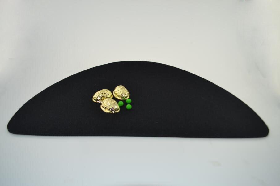 Gloden métal Shell (avec trois pois) tours de magie gros plan magie disparition/apparence Routine rue Gimmick accessoires magiques apprendre - 4