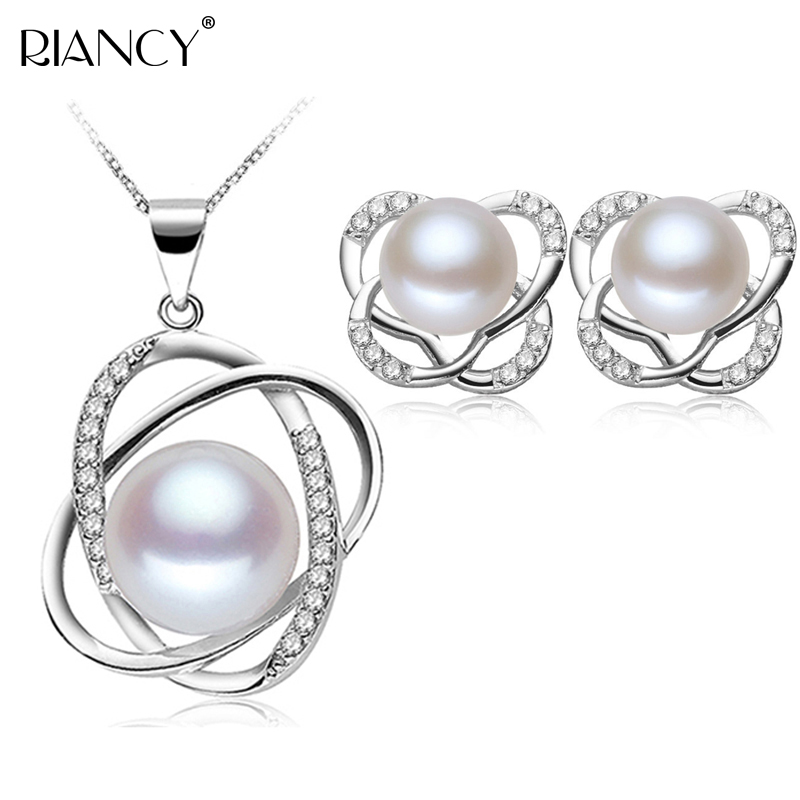 Real natural freshwater pearl jewelry sets,hot selling 925 sterling silver jewelry sets for women,fashion jewelry fine giftReal natural freshwater pearl jewelry sets,hot selling 925 sterling silver jewelry sets for women,fashion jewelry fine gift
