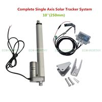 1KW Complete Single Axis Solar Tracker Kit10 12V Multi Purpose Linear Actuator