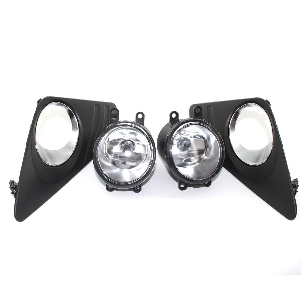 New Possbay Car Fog Lights for 2012-2014 TOYOTA CAMRY XV50 Le / xle Front Bumper Halogen Fog Lights + Mounting Kit Bulbs