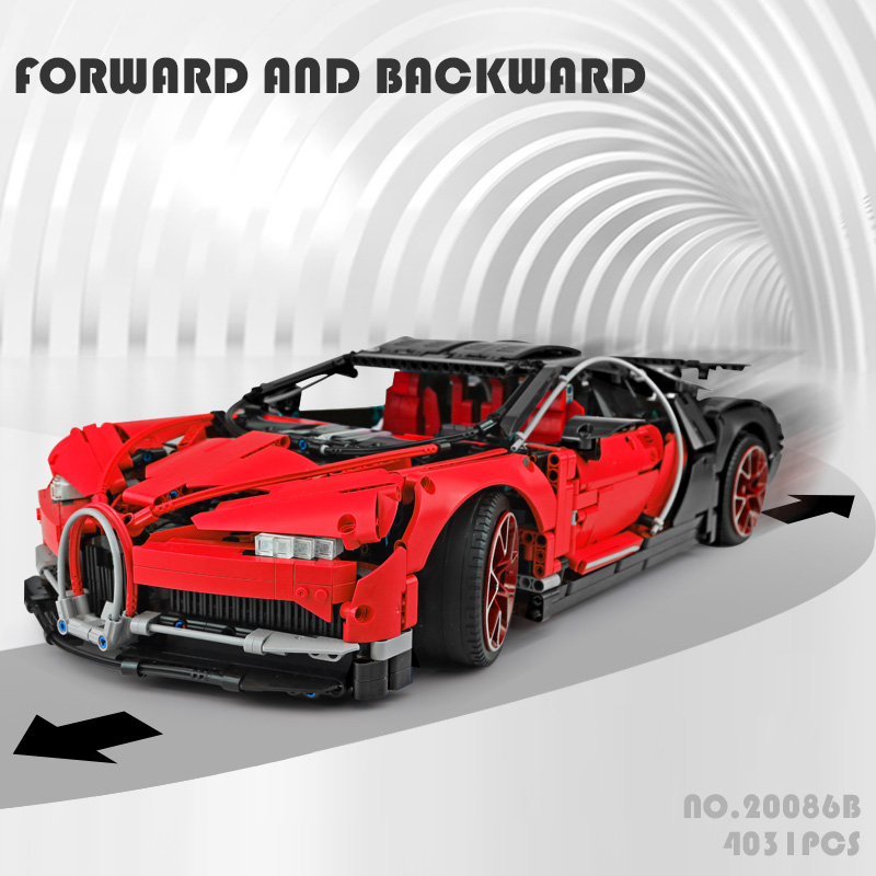 new-Lepin-20086B-The-Legoinglys-42083-Red-Bugatti-Chiron-Racing-car-Set-Building-Block-Brick-funny