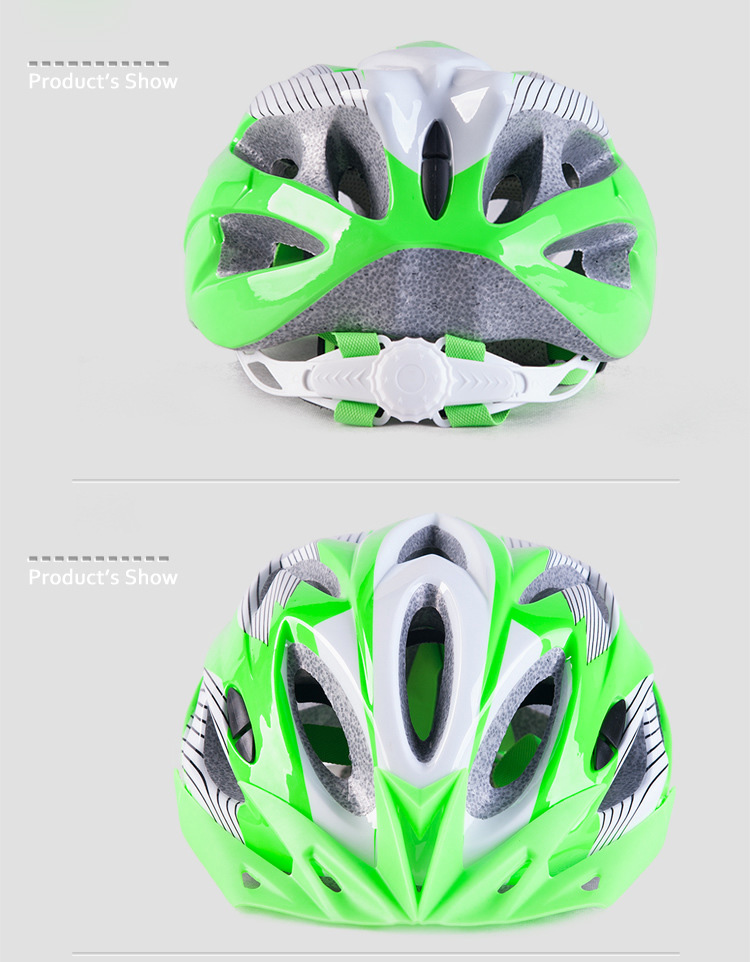 220g Ultralight Bicycle Helmet CE Certification Cycling Helmet In-mold Bike Safety Helmet Casco Ciclismo 56-62 CM-19