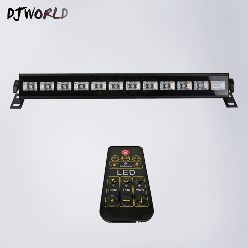 Wireless Remote Control LED Stage Bar Light 12X3W UV Single Color LED Wall Wash Lights DMX Stage Light Good Party WeddingWireless Remote Control LED Stage Bar Light 12X3W UV Single Color LED Wall Wash Lights DMX Stage Light Good Party Wedding