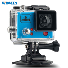 Wi-Fi Камера HD 1920*1080 P 60FPS 2.0 ЖК Спорт Видео камеры автомобиля 4 К Водонепроницаемый 30 М