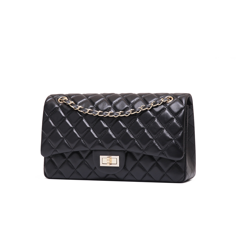 KAIDESE 2017 the trend of big Lingge Chain Bag Fashion Leather Mini Bag and head layer sheepskin leisure small fragrant bag mail