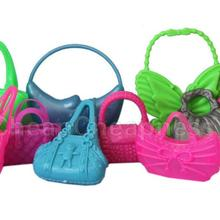 Bags Dolls-Accessories Mini for Mix-Bag Jewelries-Shaped Kids Toys Lovely Students Gift-Parts