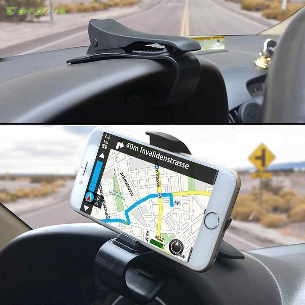 Newcarprie Universal Dashboard Mobil Gunung Dudukan HUD Desain Cradle untuk Ponsel Gpsdrop Belanja