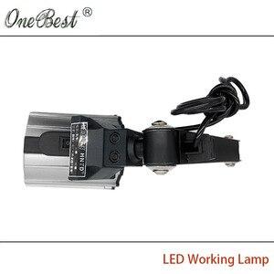 Image 5 - HNTD 12W LED Scheinwerfer Arbeit Licht 24V/220V TD04 Langen Arm Falten Lampe Wasserdichte IP65 CNC maschine Werkzeuge Strahler Kostenloser Versand