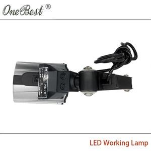 Image 5 - HNTD 12W LED Spotlights Work Light 24V/220V TD04 Long Arm Folding Lamp Waterproof IP65 CNC Machine Tools Strahler Free Shipping