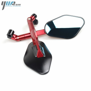 Image 3 - Universal CNC Motorcycle Mirror Side Rearview Mirror For Triumph BONNEVILLE TIGER 800 1050 SPEED TRIPLE tt600 SCRAMBLER AMERICA