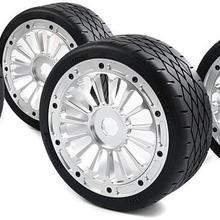 CNC металлический Ступица колеса с плоской шиной на дороге шины для 1/5 ROFUN F5 MCD RR5 160*65 мм