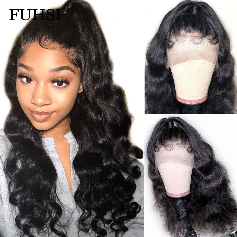 360 Lace Frontal Human Hair Wigs For Black Women Body Wave Brazilian Remy Hair Lace Frontal