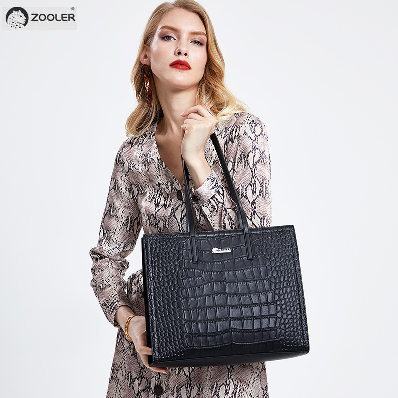 HOT Genuine leather woman bag ZOOLER very limited handbag real leather handbags for women 2019