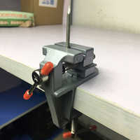 """3.5"""" Aluminum Miniature Small Jewelers Hobby Clamp On Table Bench Vise Tool Vice High Quality Portable Profession Tool"""