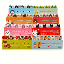 2pcs/lot Kawaii Cartoon cake Memo Pad weekly plan Sticky Notes Post stationery School Supplies Planner Paper Stickers 2pcs lot kawaii british style memo pad weekly plan sticky notes post stationery school supplies planner paper stickers