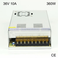 High Quality 36V 10A 360W Switching Power Supply Driver For LED Light Strip LED Display Billboard