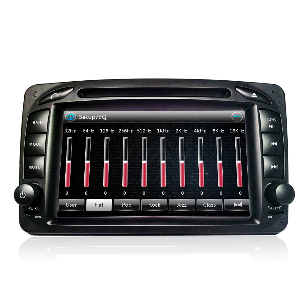 Eunavi 2 Din Auto DVD Player Für Mercedes/Benz/CLK/W209/W203/W168/W208 /W463/W170/Vaneo/Viano/Vito/E210/C208 Canbus FM GPS Radio