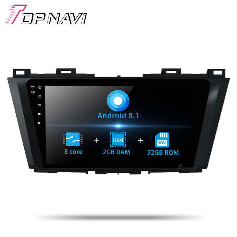 Autoradio Car Player GPS Navigation For Mazda 5 2014 Stereo 9 Inch Android 8.1 Car Auto Multimedia Radio No DVD Double Din MP3