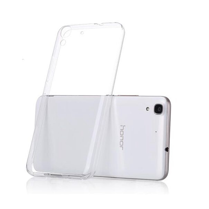 Clear Ultra Thin Soft TPU Phone Case For <font><b>Huawei</b></font> Y9 2019 <font><b>Y5</b></font> Prime <font><b>2018</b></font> Y7 Prime <font><b>2018</b></font> Y6 <font><b>2018</b></font> Y3 Y9 <font><b>2018</b></font> Silicon Back Cover shell image