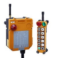 F24 12S 1 transmitter and 1 receiver)/12 channels 1 Speed Hoist crane remote control wireless radio Uting remote control Switch