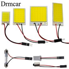 T10 W5W Auto Interior Reading Cob 24SMD 36SMD 48SMD Light Dome Festoon Car Led Vehicle Panel Lamps  BA9S DC 12v Styling