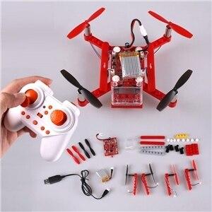 DIY Mini Blocos RC Quadcopter Drone RTF 2.4 GHz