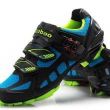 Tiebao профессиональные MTB Вело-обувь Для мужчин Для женщин горный велосипед самоконтрящаяся Обувь дышащая bycle нейлон-стекловолокно подошва Обувь