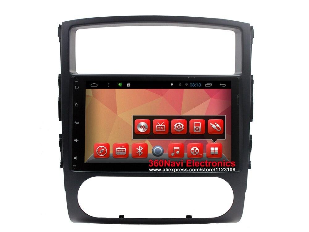 imágenes para Quad core android gps del dvd del coche para mitsubishi pajero iv 2006-2011 Autoradio GPS con BT Radio RDS Wifi Espejo-link 8 GB tarjeta del mapa