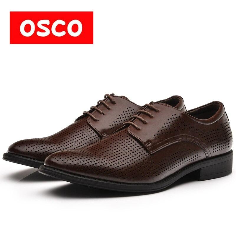 OSCO TOUTE LA SAISON Nouvelle Hommes Chaussures Mode Hommes Casual Respirant Richelieus et hommes Chaussures #995706P-1