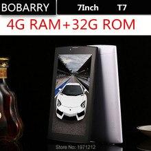BOBARRY 7 Pulgadas 4G LTE T7 Llamada de Teléfono inteligente Android Tablet pc Android 5.1 4 GB RAM 128 GB ROM WiFi GPS FM Octa core Tabletas Pc
