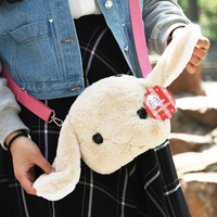 High Quality Rabbit Plush Backpack Cute Pink Bunny Stuffed Soft Toy Kids Toy Rabbit Doll