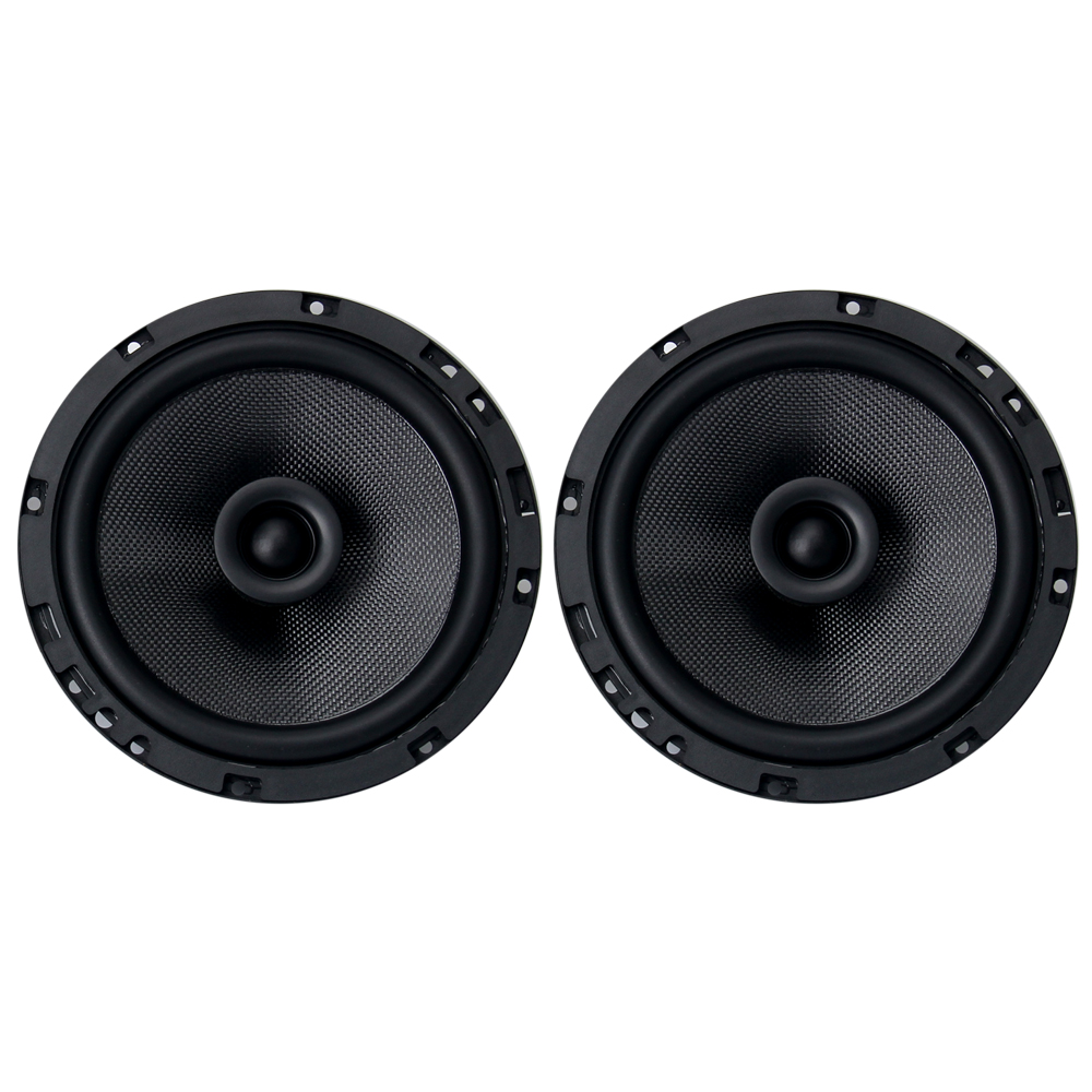 "Dasaita 6.5"" 2 way coaxial speaker 4 Ohm 50W RMS / 100W ..."