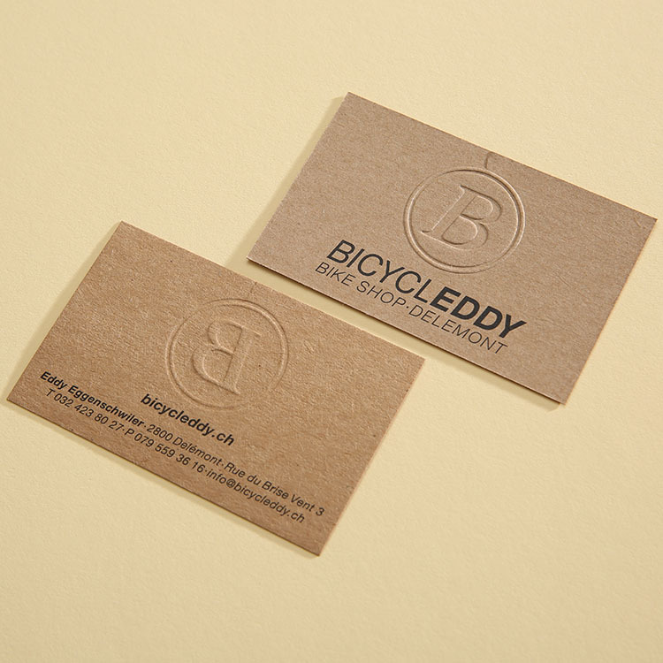 Kraft Paper Business Cards Images - Business Card Template