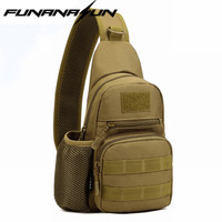 900D Outdoor Sports Chest Bag Tactical Hunting Camping Trekking EDC Utility Crossbody Shoulder Bag With Mesh