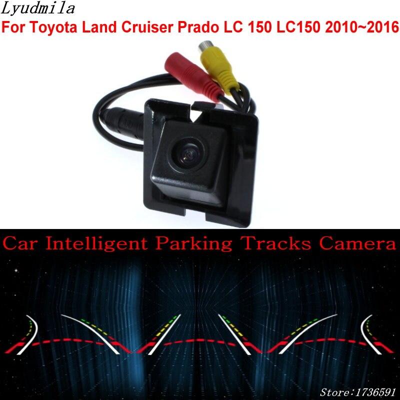 Lyudmila voiture Intelligent Parking pistes caméra pour Toyota Land Cruiser Prado LC 150 LC150 2010 ~ 2016 caméra de recul
