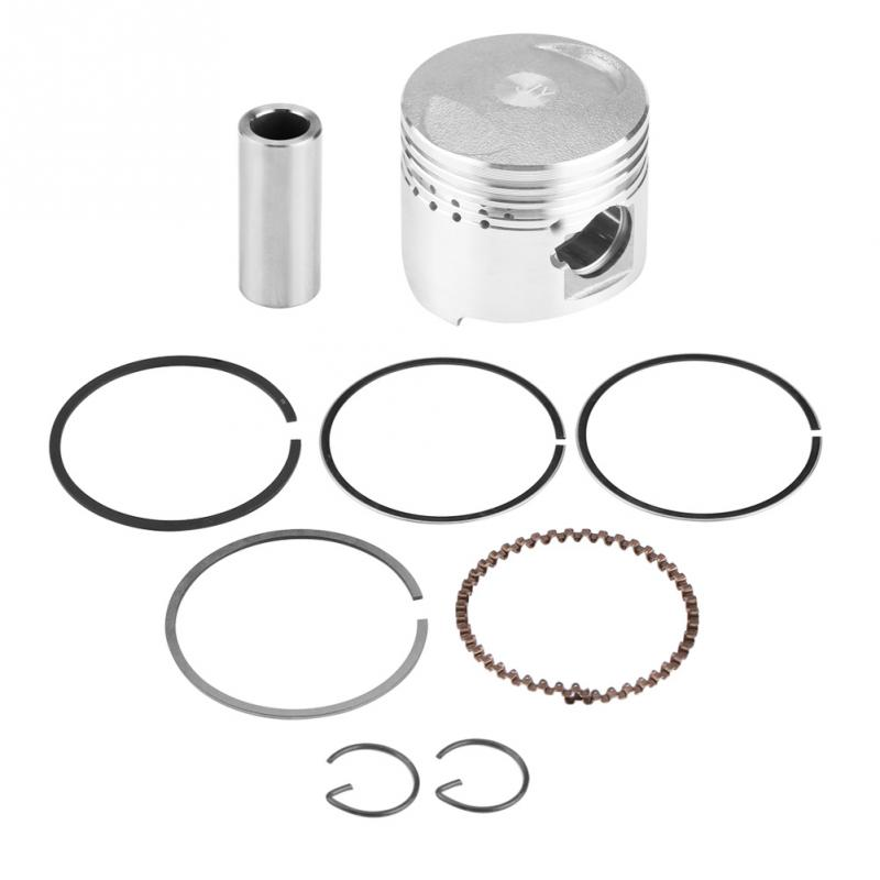 39mm Motorcycle Piston Rings Kit Assembly For GY6 50CC Horizontal Engine Scooter Moped Motorcycle Piston Car Accessories New