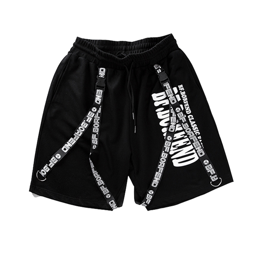 fdfac07df0fd Summer Male Harem Shorts Men Hip Hop Gasp Mens Baggy Short Skateboard  Bermuda Academia Pockets Elastic