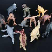 12pcs Dinosaur Figures Toy Animals Models Simulation Cute Quality PVC Action Figure Baby Toys Gift For Kids