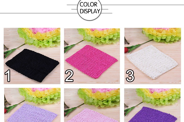 FENGRISE X23cm Tulle Spool Tutu Crochet Chest Wrap Tube Tops Apparel Sewing Knit Fabric Girl Birthday Gifts Headbands Skirt 4