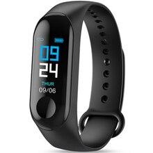 Фитнес-браслет кровяное давление на открытом воздухе ips экран кислородный монитор сердечного ритма умный Браслет M3 водонепроницаемый браслет-трекер