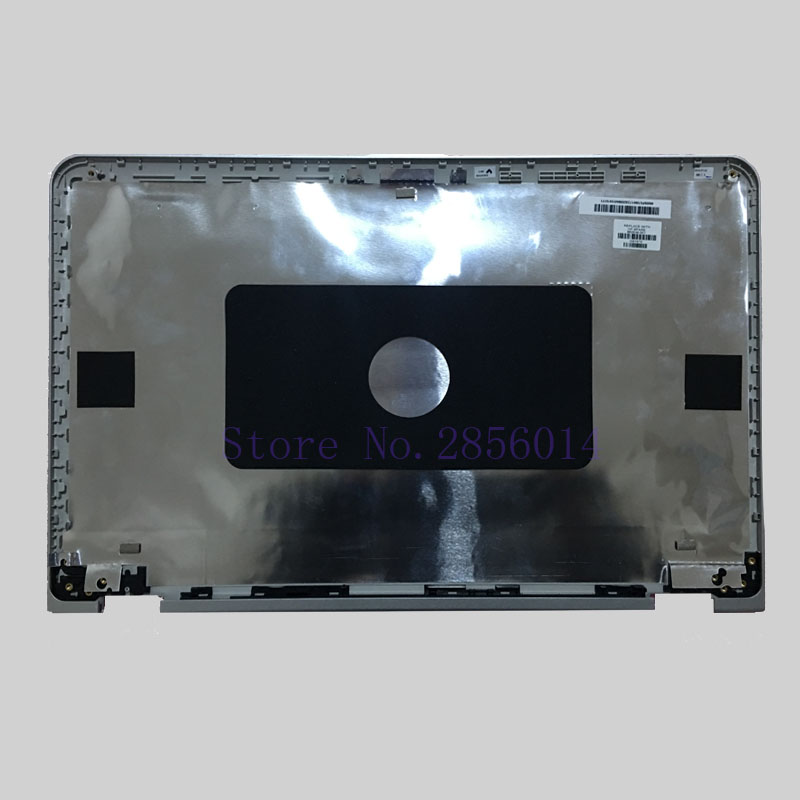 NEW LCD back cover for HP pavilion x360 15-bk002ds 862636-001 Silver series