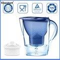 Kbxstart 3.5L домашний угольный сетчатый чайник для офиса очиститель воды пищевой материал фильтр для воды с электронным таймером