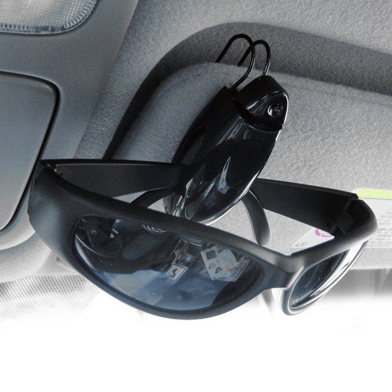 Car Glasses Holder Auto Vehicle Visor Sunglass Accessories Eyeglass ...
