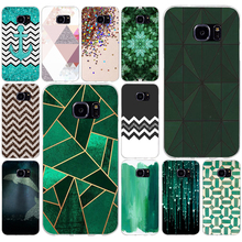 171AQ Beautiful Emerald Green glitter Soft TPU Silicone Cover Case for