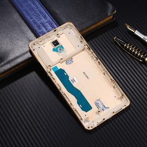 Image 5 - Étui de métal dorigine officielle pour Lenovo Vibe P2 P2c72 P2a42 pièces de remplacement du boîtier de la batterie arrière