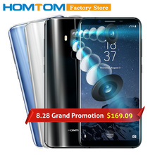 Doogee HOMTOM S8 смартфон 4 г 5.7 «HD + Экран 18:9 соотношение MTK6750T Octa core 4 ГБ 64 ГБ 16.0MP + 5.0MP двойной сзади 13.0MP Передняя камера телефона