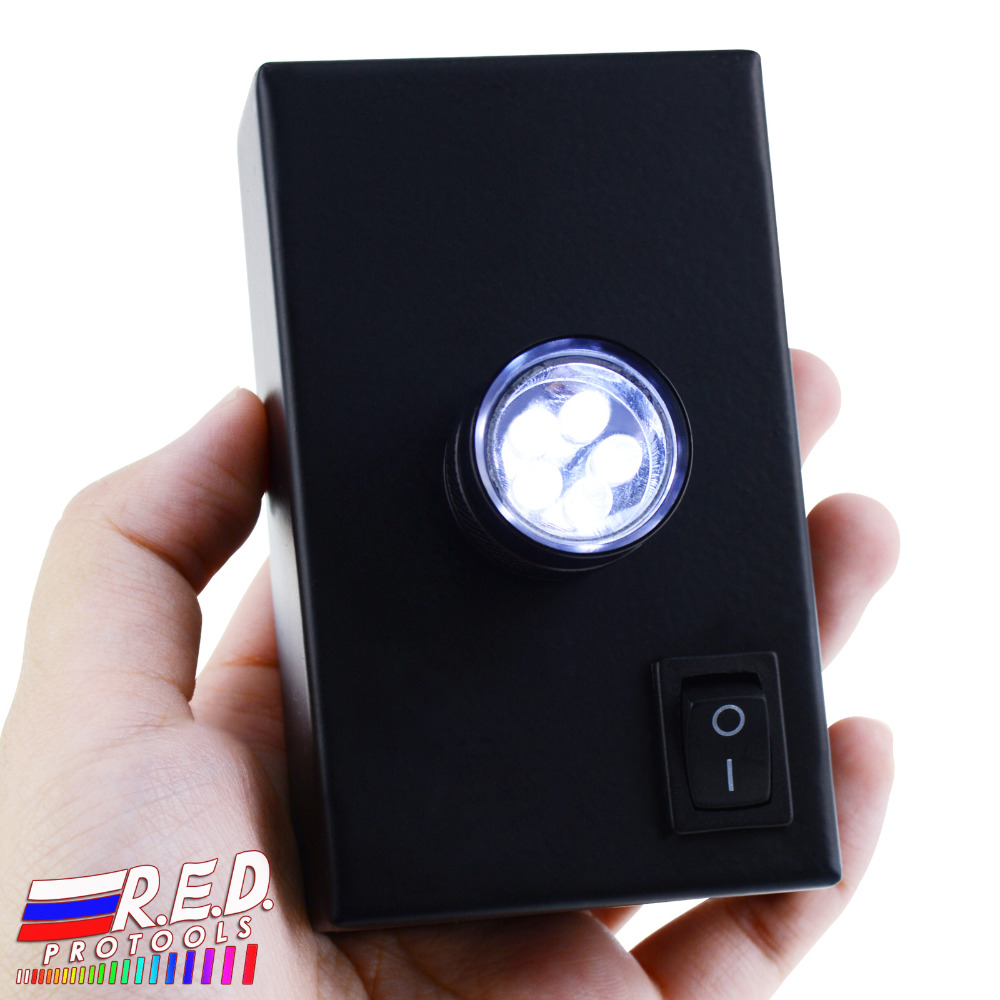 Desktop LED Light For Polariscope / Darkfield Loupe 24mm Diameter + 3 High Quality LED Illumination