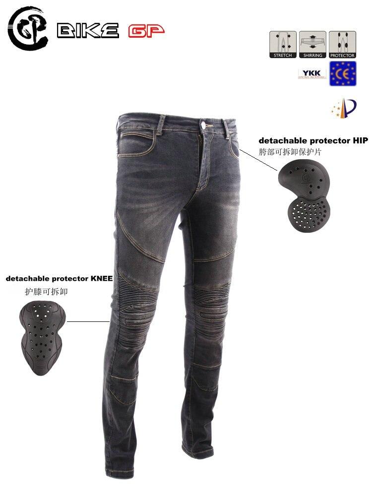 Байк GP gpp01 мотоцикл джинсы брюки популярные бренды брюки для верховой езды брюки случайных отправить 4 пленки черный оригинальный