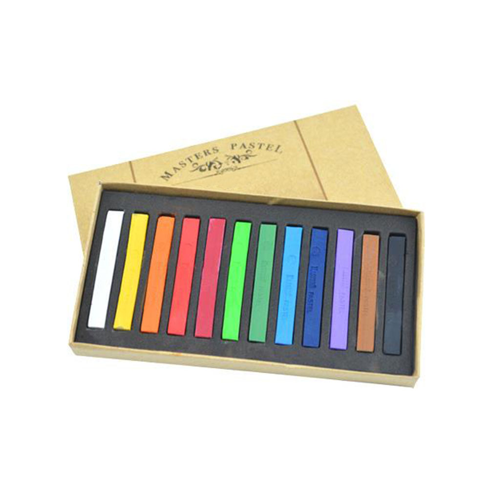 12/24/36/48 Colors Stick Toner Soft Pastel Smooth Students Hair Dye Brush Drawing Line Easy Use Painting Chalk Set Portable12/24/36/48 Colors Stick Toner Soft Pastel Smooth Students Hair Dye Brush Drawing Line Easy Use Painting Chalk Set Portable